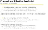 improving javascript performance