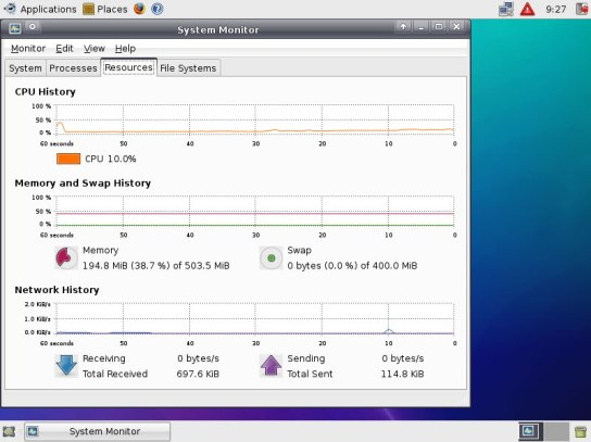 Screen Shot's Xubuntu